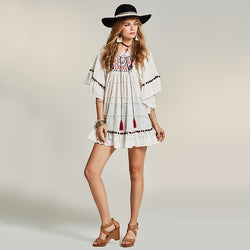 Free Spirit Chic Dress