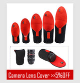 5 Pcs / Set - Neoprene Lens Pouch