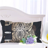 Grand Lotus Pillow And Bed Cover Set