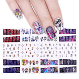 12 Patterns/Set Boho Dream Catcher Nail Art Stickers