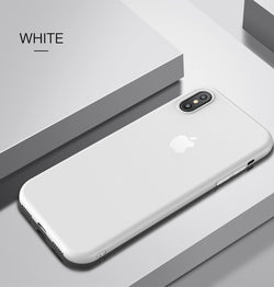 Flexi Ultra Thin Silicone Case For iPhone X