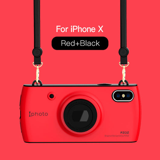 *Best Seller* Retro Cover Case For iPhone X - Comes with Free Lanyard!