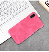 Premium Hard Back Cover For iPhone X - 5 Colors To Choose From!