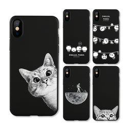 The Cute Collection - Frosted Matte Cases For iPhone X