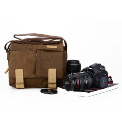Vintage Style DSLR Travel Bag