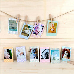 20 Pcs 9*6cm DIY Photo Paper Frame For Instax Photos