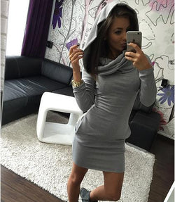 Kardashian Style Hot Winter Knit Dress