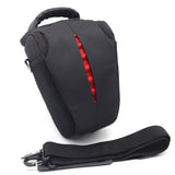Compact Styled Single DSLR Bag - Red