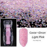 Nail Decor #3 - Bottled Shining Crystal Beads