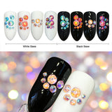 Nail Decor #4 - 3D Rhinestone Crystals | Approx 280 Pcs Per Bottle