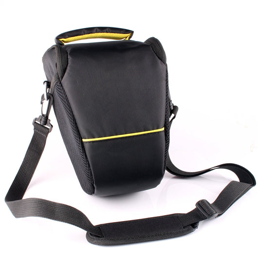 Compact Styled Single DSLR Bag - Yellow
