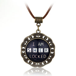 Handmade Vintage I am Sherlocked Necklace