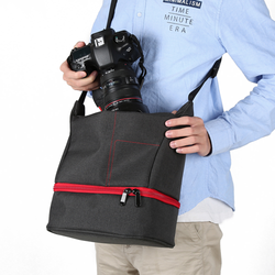 Portable Waterproof Shoulder Bag For DSLR Kits
