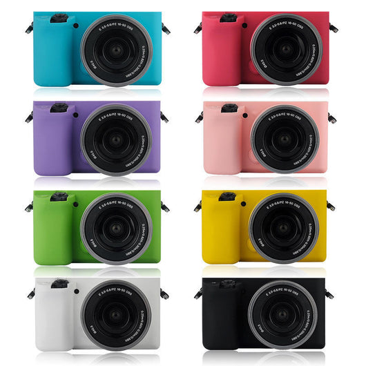 *HOT!* Protective Silicone Body Case For Sony A6000 ILCE6000 ILCE-6000