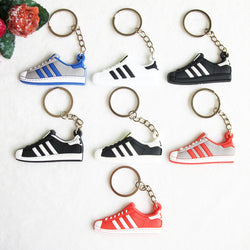 Special 10 Pieces Complete Set - Vintage Adidas Superstar Key Chains