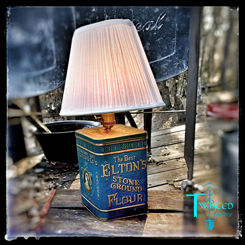 Flour Tin lamp - Twisted Lighting
