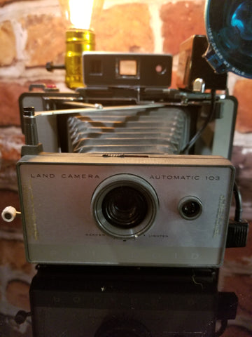 Camera: 1960's Polaroid 103 Land Camera - Twisted Lighting