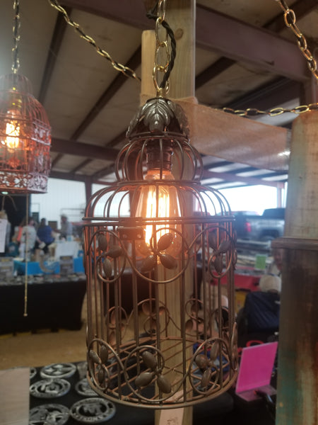 Bird Cage Chandelier Twisted Lighting