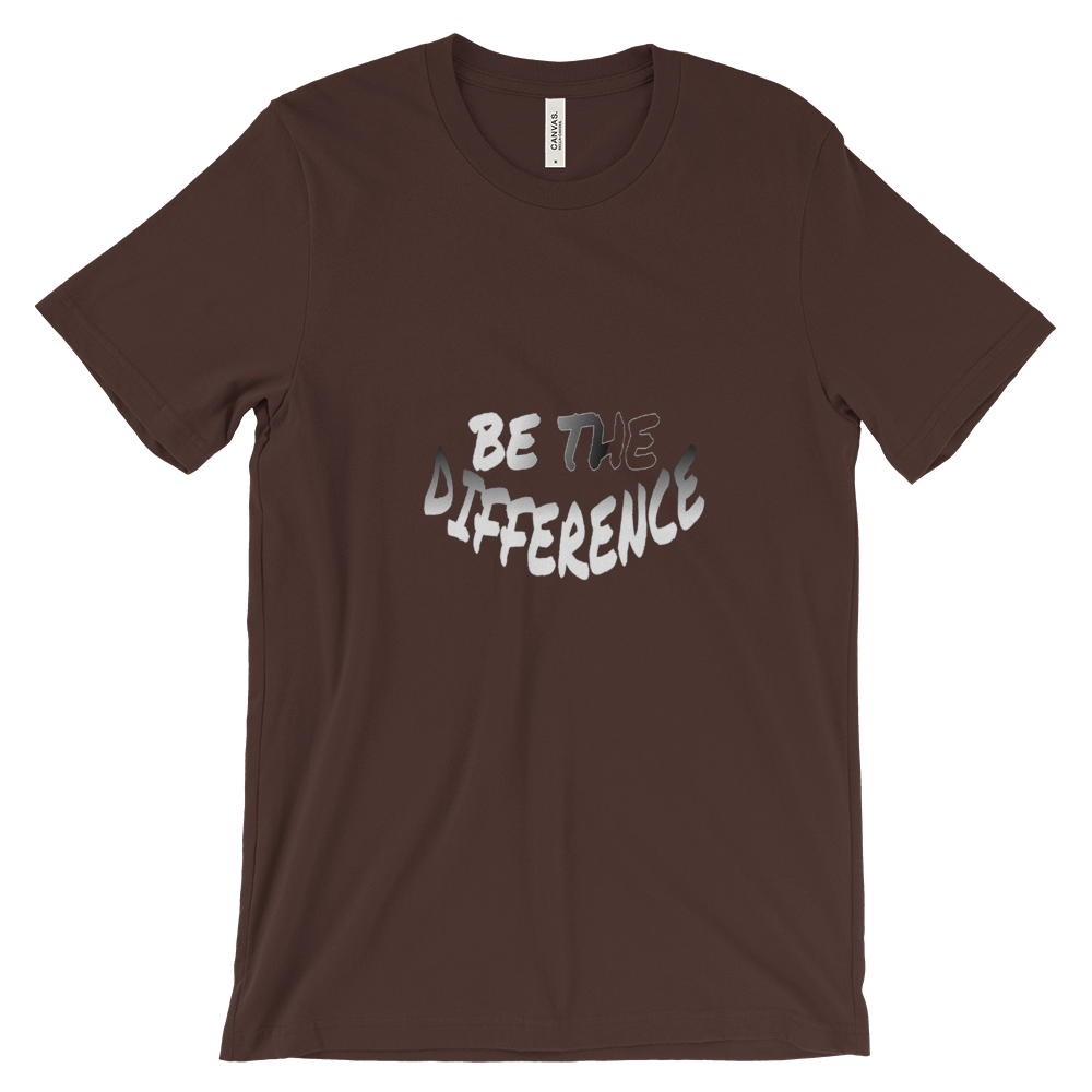 Be The Difference Tees - Men/Unisex - Be Ye AWARE Clothing