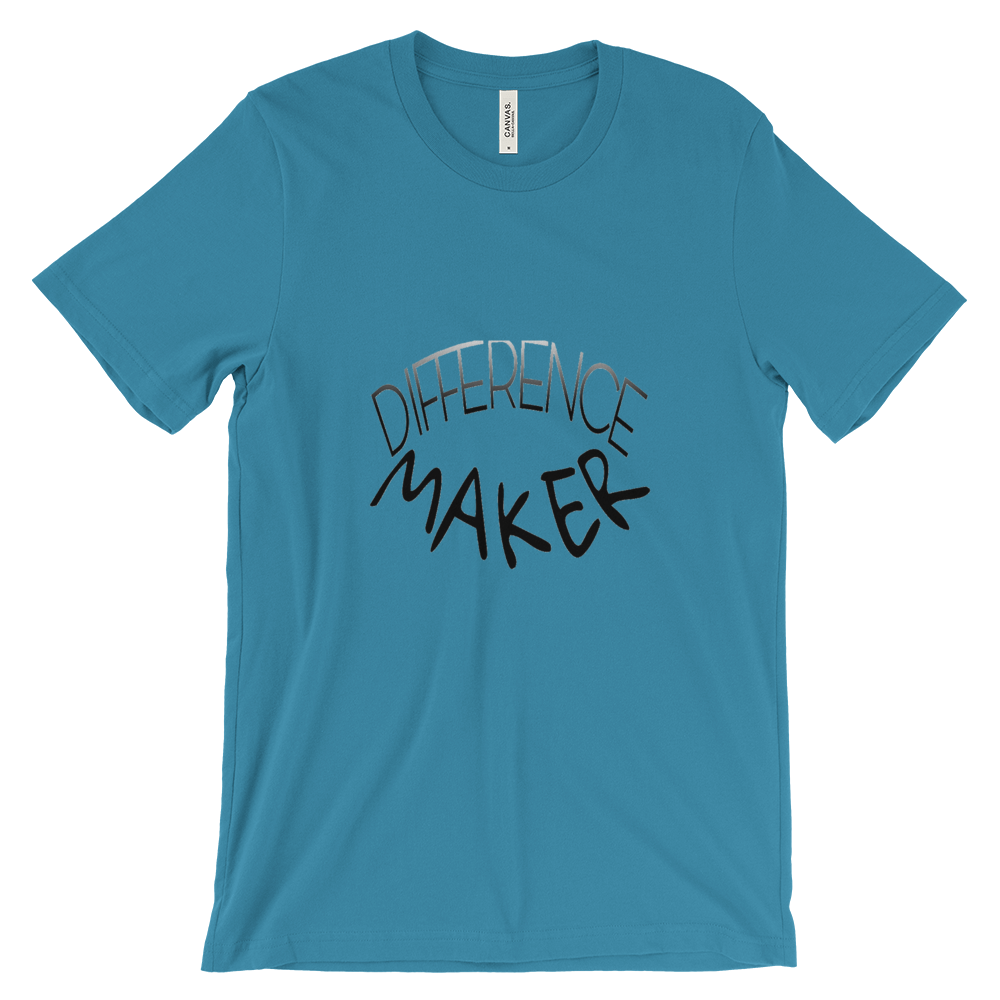 Difference Maker Tees - Men/Unisex - Be Ye AWARE Clothing