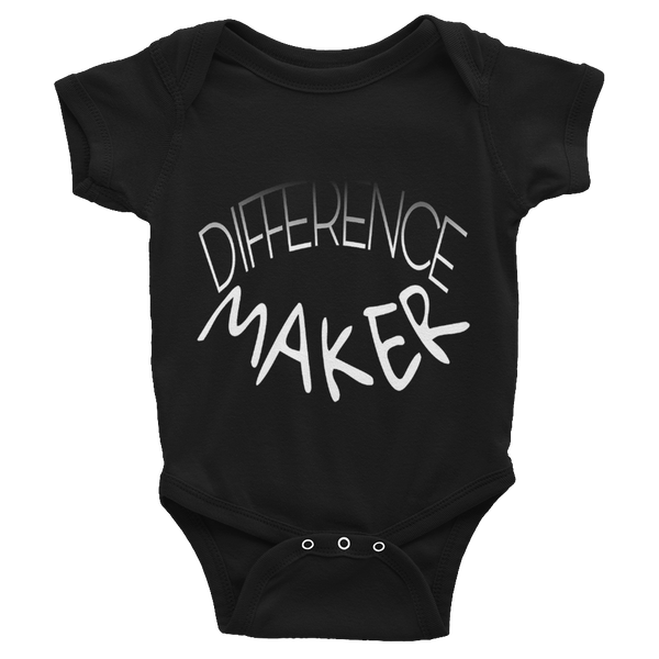 Difference Maker Baby Onesies