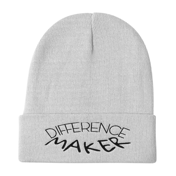 Difference Maker Beanies - Be Ye AWARE Clothing