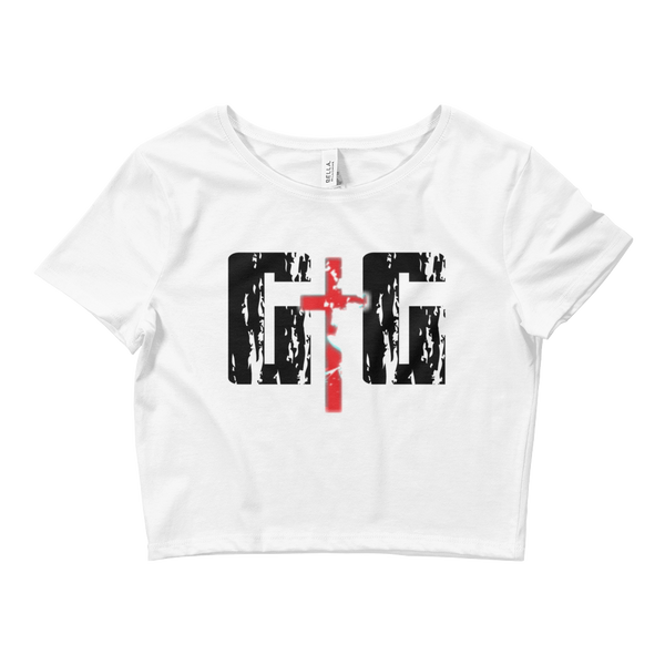 GtG Ladies' Crop Tees - Be Ye AWARE Clothing