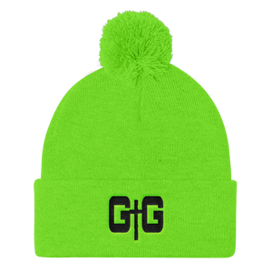 GtoG Pom Pom Knit Beanies - Be Ye AWARE Clothing