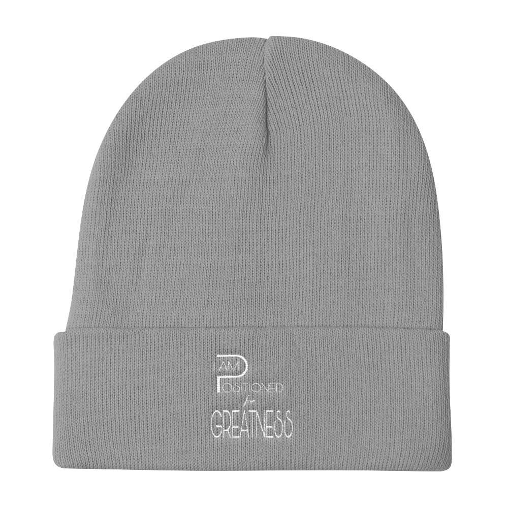 Positioned Logo Beanies - Be Ye AWARE Clothing