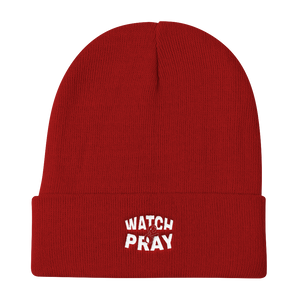 Watch & Pray Otto Beanies - Be Ye AWARE Clothing