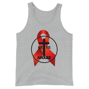 HIV/AIDS Awareness - Men's/Unisex Tanks - Be Ye AWARE Clothing