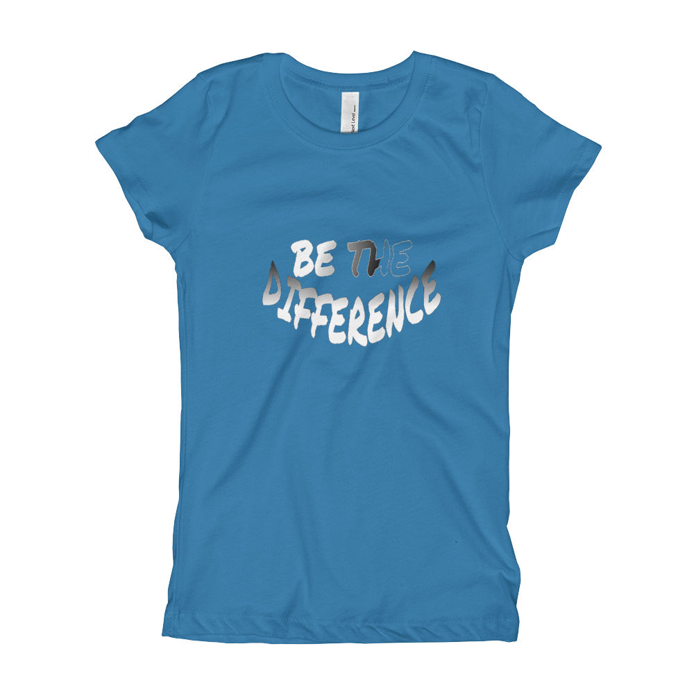 Be the Difference Girl's T-Shirts - Be Ye AWARE Clothing