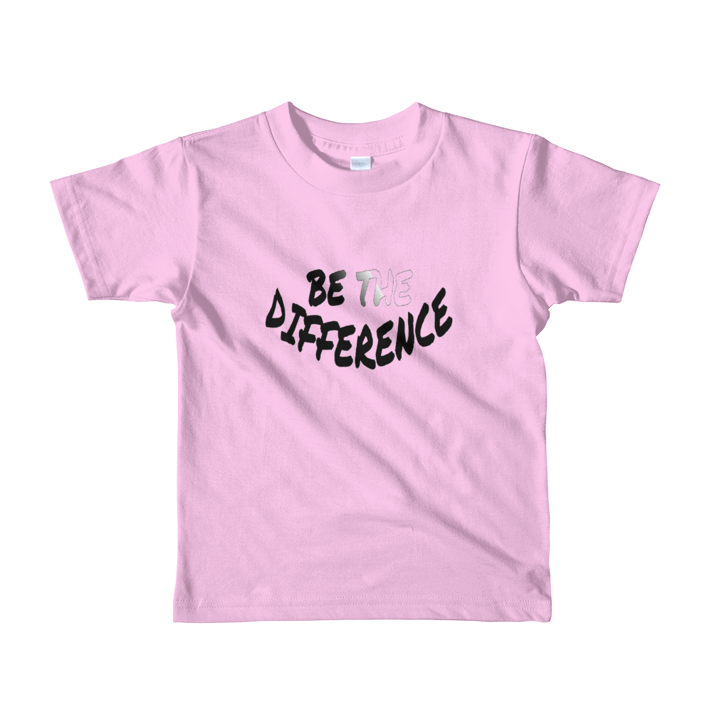Be the Difference - Boys/Unisex Kids T-Shirts - Be Ye AWARE Clothing