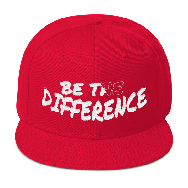 Be The Difference Unisex Snapback Hats - Be Ye AWARE Clothing