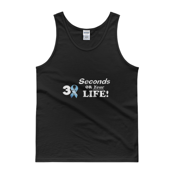 PCA 30 Sec or Life Tanks - Men/Unisex - Be Ye AWARE Clothing