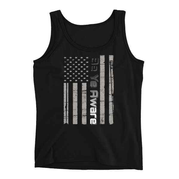 Old Glory Ladies' Tanks - Be Ye AWARE Clothing