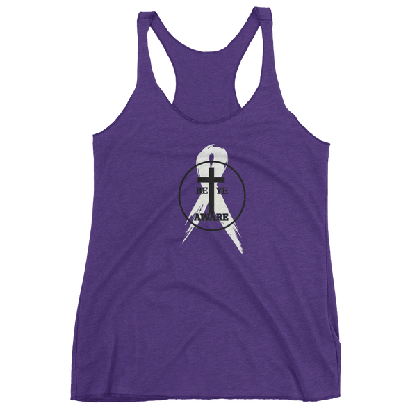 DVA Ladies' Racerback Tanks - Be Ye AWARE Clothing