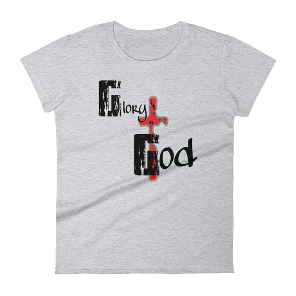 Glory to God Ladies Tees - Be Ye AWARE Clothing