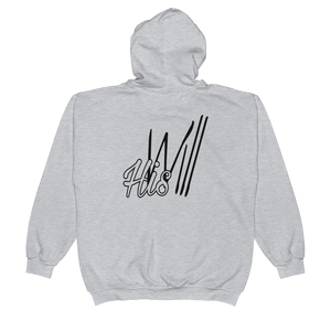 HIS Will Men/Unisex Zip Hoodies - Be Ye AWARE Clothing