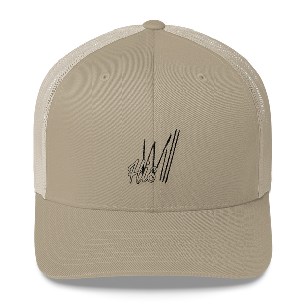 HIS Will Trucker Caps - Be Ye AWARE Clothing