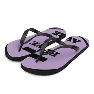 Be Ye AWARE Unisex Flip-Flops