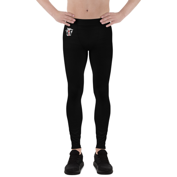 GtG Men's Athletic Rash Guard Leggings - Be Ye AWARE Clothing