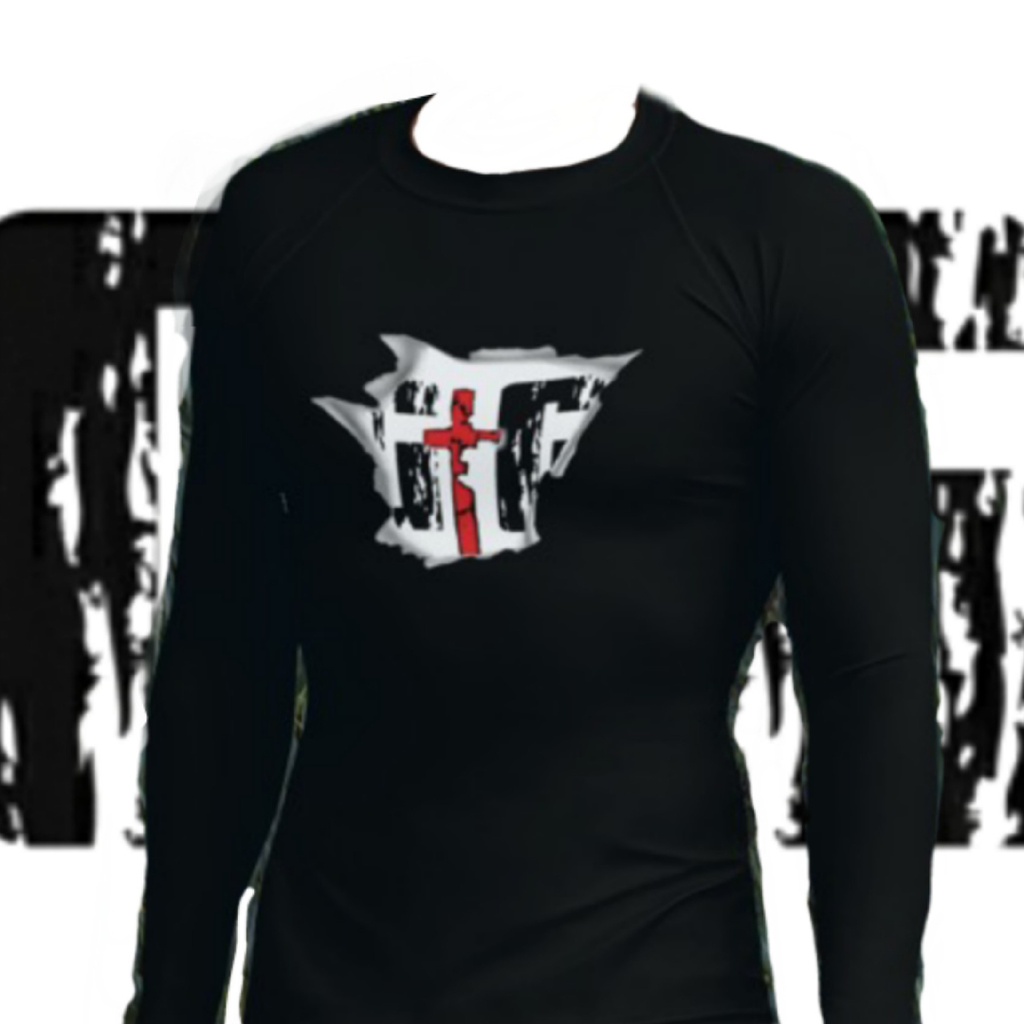 GtG Men's Athletic Rash Guard Shirts - Be Ye AWARE Clothing