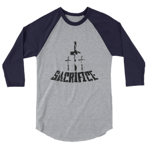 Sacrifice Men/Unisex Baseball Tees - Be Ye AWARE Clothing