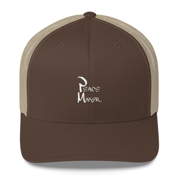 Peace Maker Trucker Caps - Be Ye AWARE Clothing