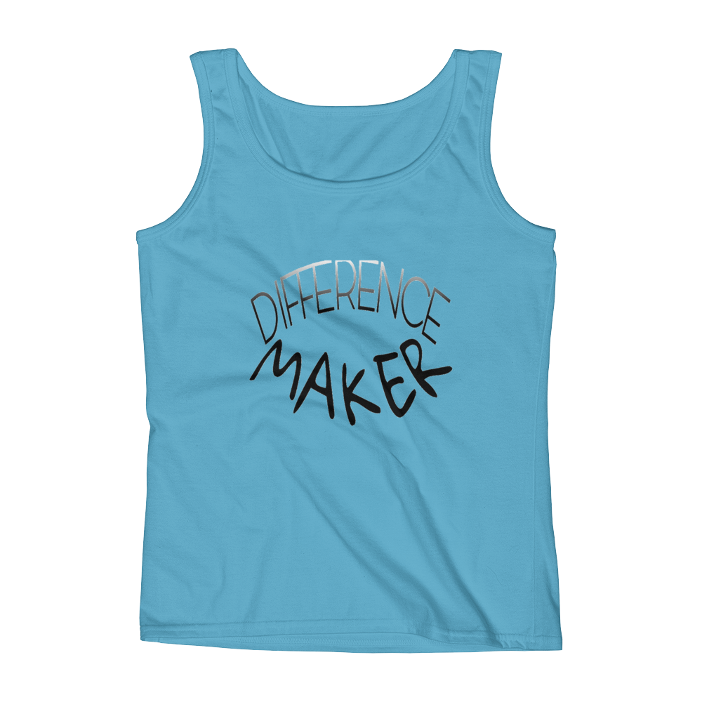 Difference Maker Ladies Tanks - Be Ye AWARE Clothing