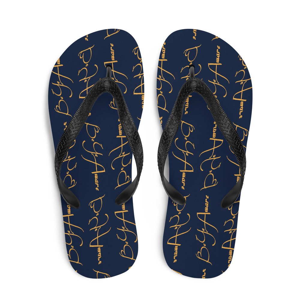 Be Ye AWARE's Classics Unisex Flip-Flops