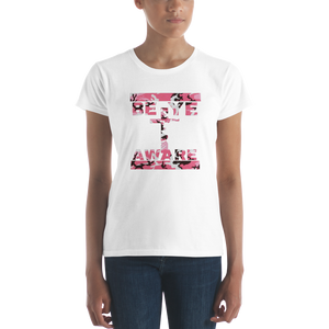 BYA Pink Fatigue Ladies' Tees - Be Ye AWARE Clothing