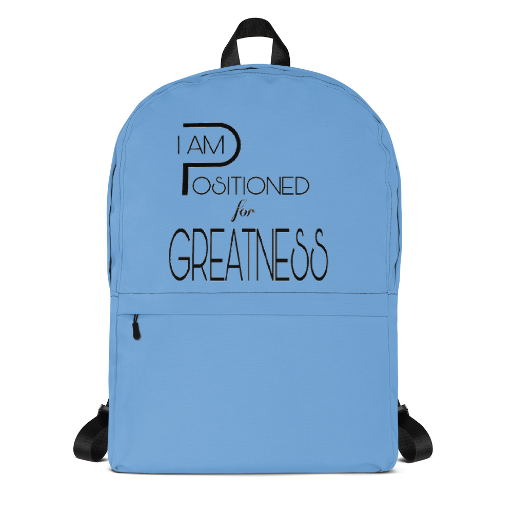 Positioned for Greatness Backpacks