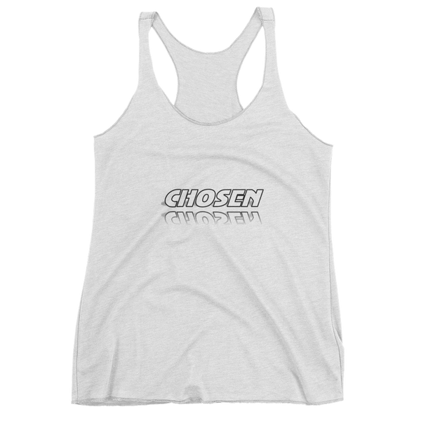 CHOSEN Ladies Racerback Tanks - Be Ye AWARE Clothing